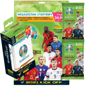 EURO 2020 2021 Kick OFF Album 89 x Karty Panini